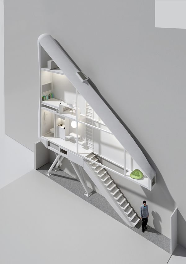 Keret House, World's narrowest house