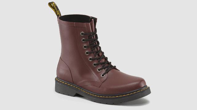 Drench Wellington Rubber Rain Boots By Dr Martens