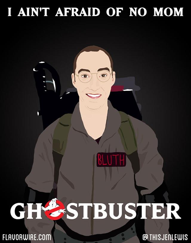 Ghostbusters by Jennifer Lewis