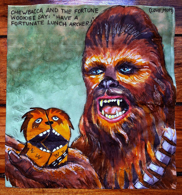 Chewbacca and the Fortune Wookiee for Archer