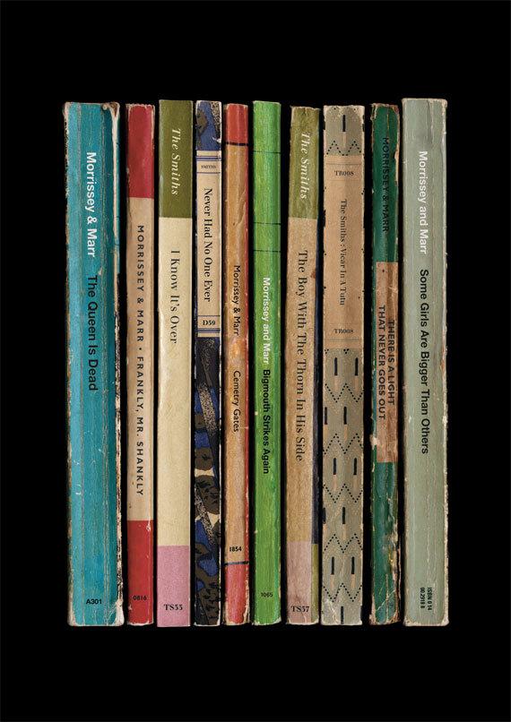 70s Amp 80s Rock Albums Imagined As Vintage Book Sets
