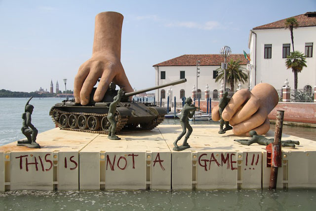 This is not a game by Lorenzo Quinn