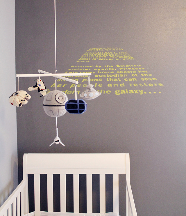 Star Wars Baby Nursery