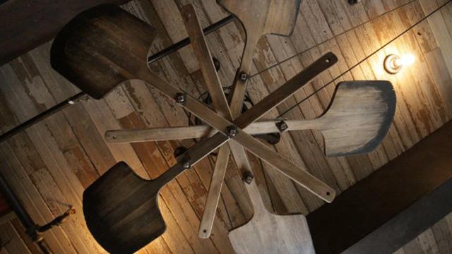 Baker's paddle fan