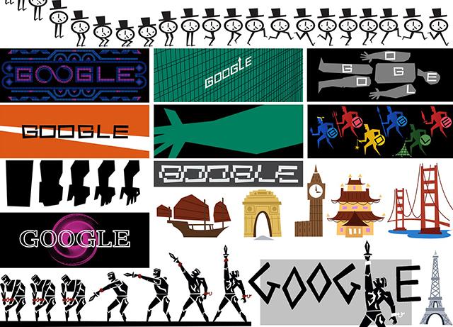 Google Doodle for Saul Bass