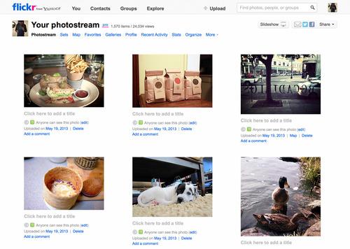 Flickr Redesign