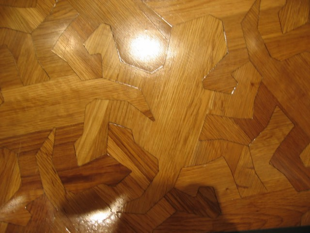 Wooden Floor Pattern Based On M C Escher39s 39reptiles39