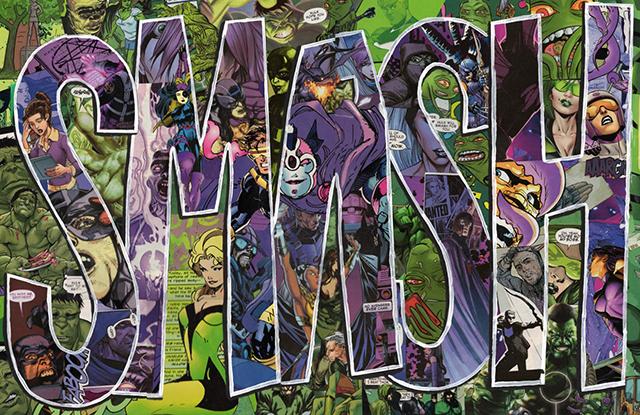 SMASH The Incredible Hulk Marvel Comics