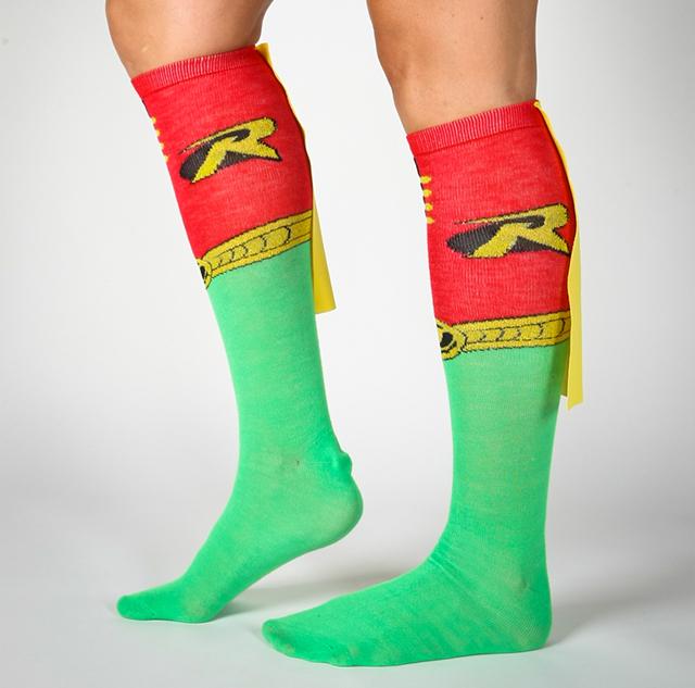 Robin Caped Knee High Socks