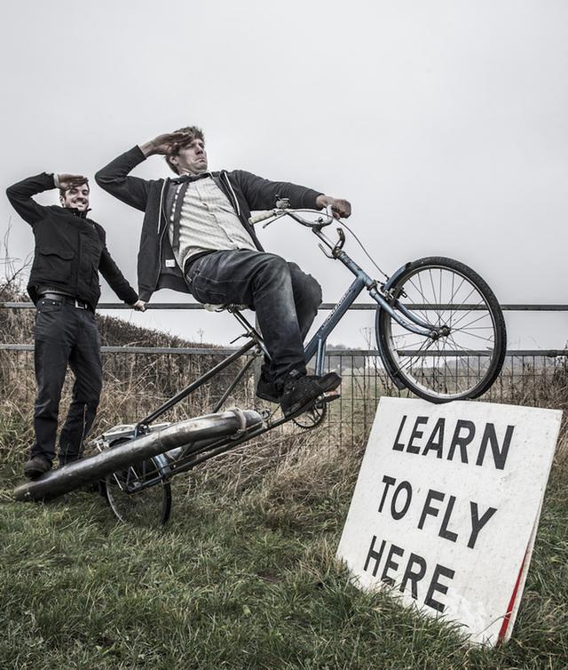 Jet Bicycle