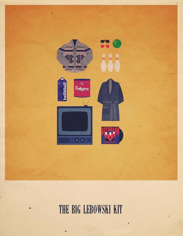 The Big Lebowski Hipster Kit