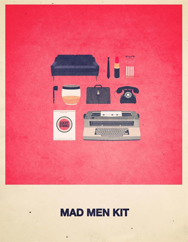 Mad Men Hipster Kit