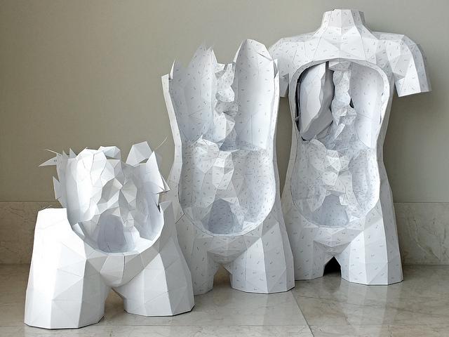 Papercraft Torso