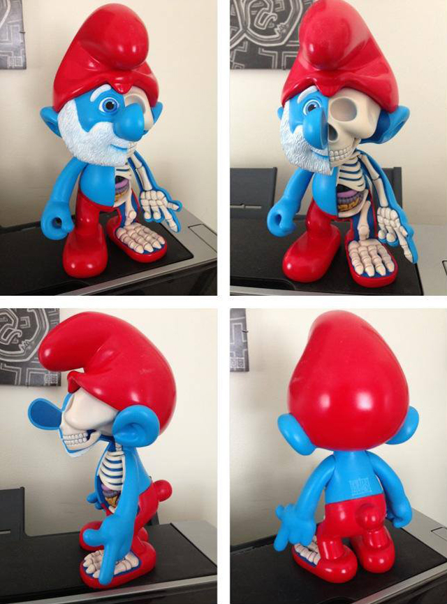 Papa Smurf Dissected