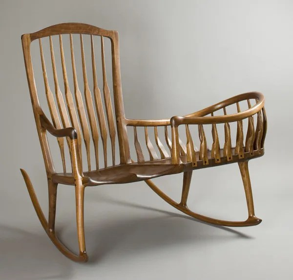 Rocker cradle by Scott Morrison