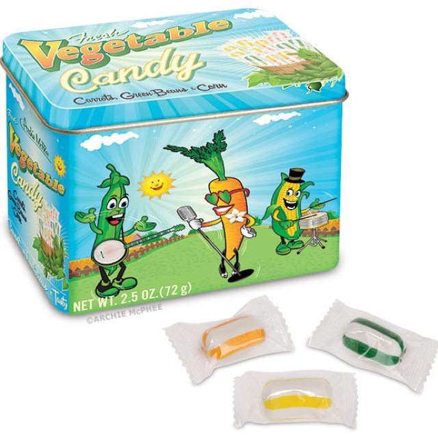 vegetable candies