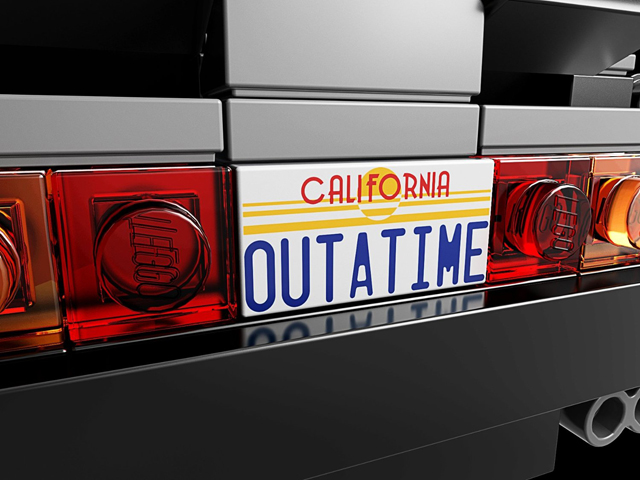 The DeLorean time machine