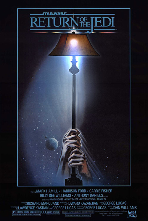Popular Movie Posters Get Mashed Up With Lamps