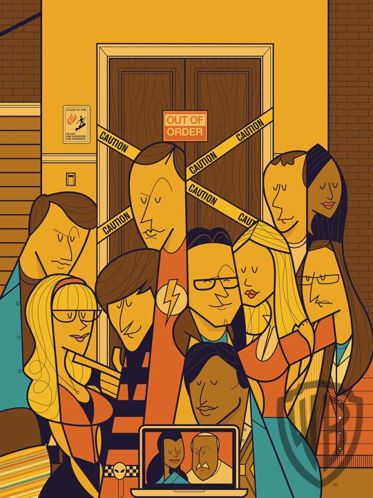 The Big Bang Geometry by Ale Giorgini
