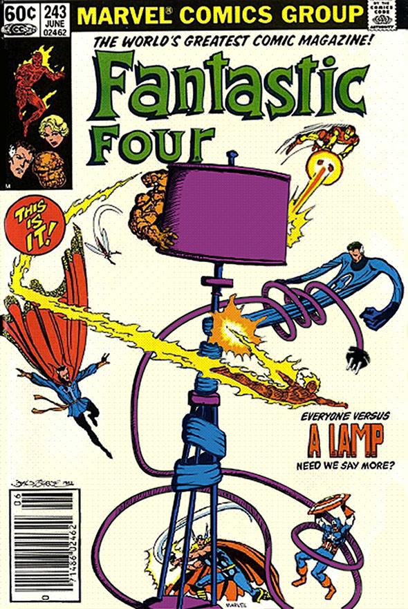 Fantastic Four Lamp