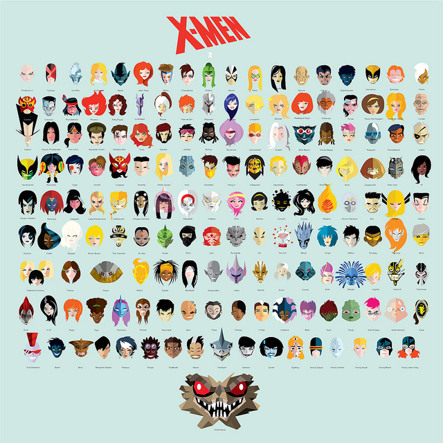 X-men and more X-men
