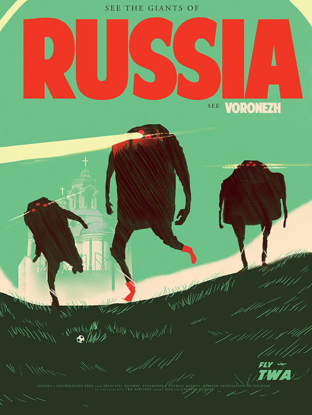 The Giants of Vornezh - Russia
