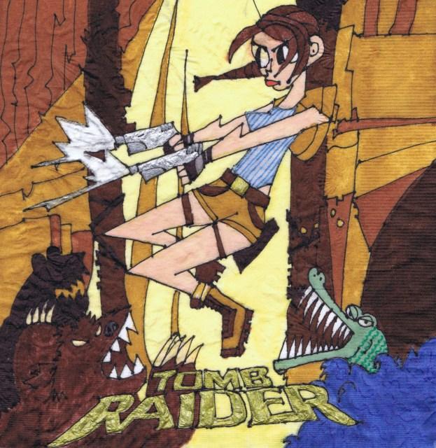 Tomb Raider Napkin