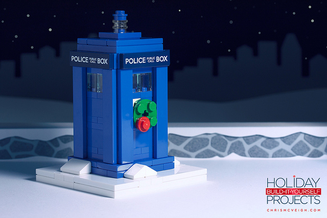 Build-it-Yourself 2013: A Peculiar Police Box