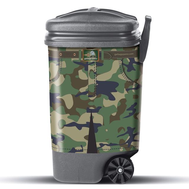 Camo Garbage Pantz