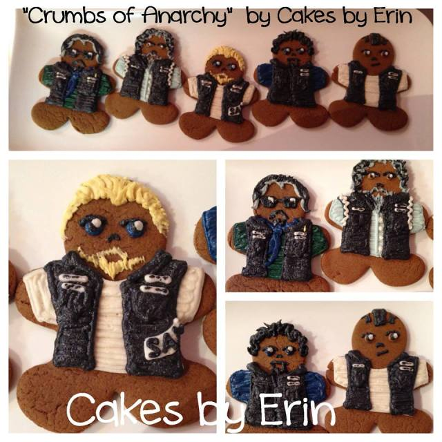 Crumbs of Anarchy by Erin