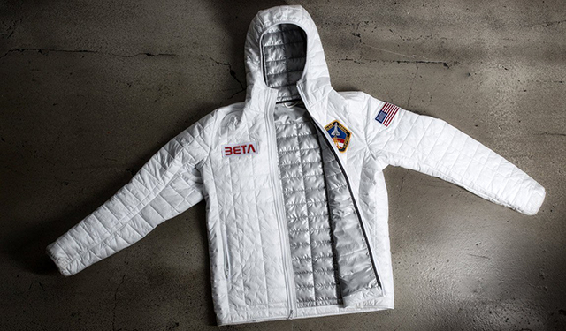 Space Jacket A Nasa Inspired White Thermal Jacket By