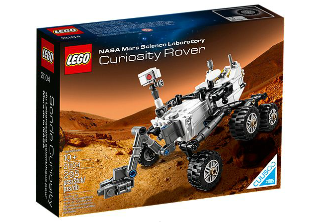 NASA Mars Science Laboratory Curiosity Rover