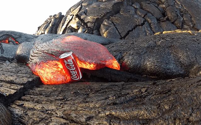 Coke and Lava