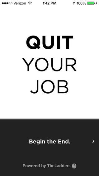 Quit Your Job, An iOS App for Quitting via Text Message
