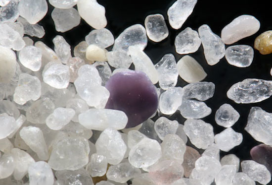 Magnified Sand - Crystals 100x Magnified