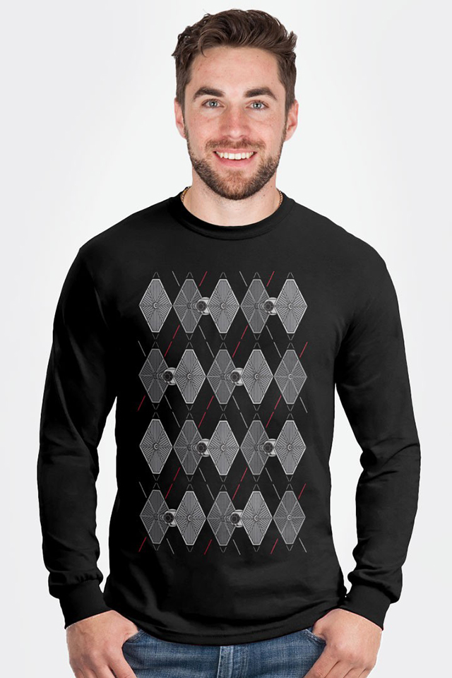 Argyle Fighters Longsleeve