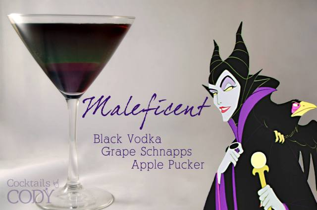 Cocktails by Cody - Maleficent