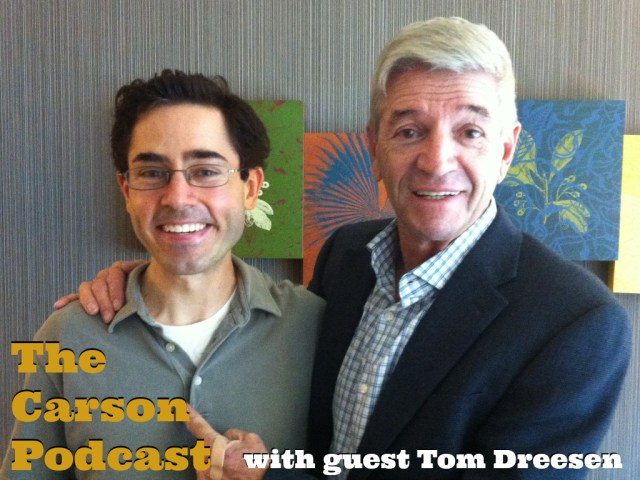 Mark Malkoff and Tom Dreesen