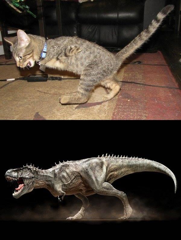 Mercury as T-Rex