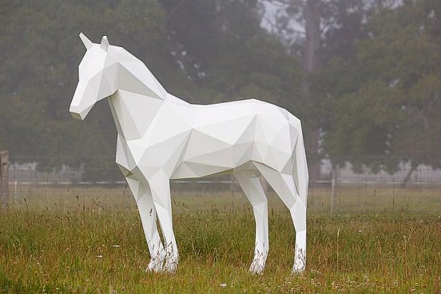 Geometric Animal Sculptures by Ben Foster