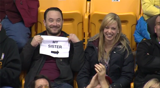 Gophers Kiss Cam