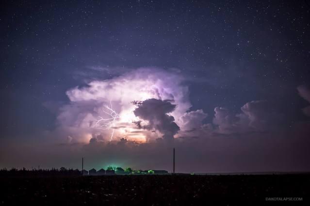 Huelux Storm Over Farm