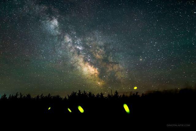 Huelux Firefly Milky Way