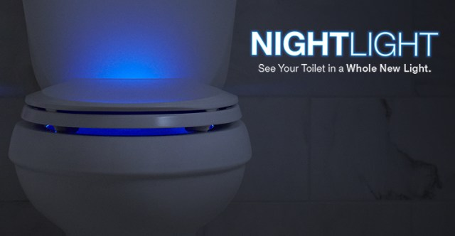 Nightlight Toilet Seat