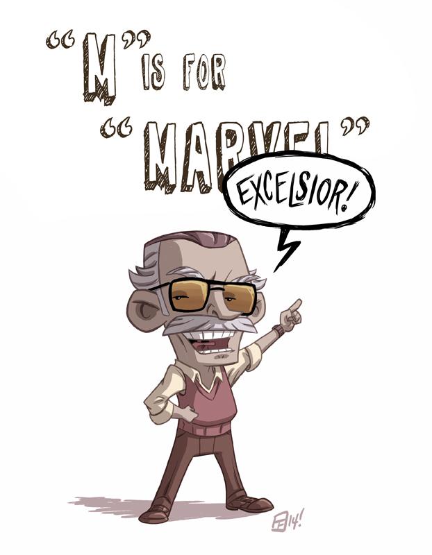 M Is For Marvel by Otis Frampton