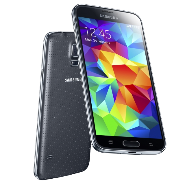 Samsung Galaxy S5 Front Back