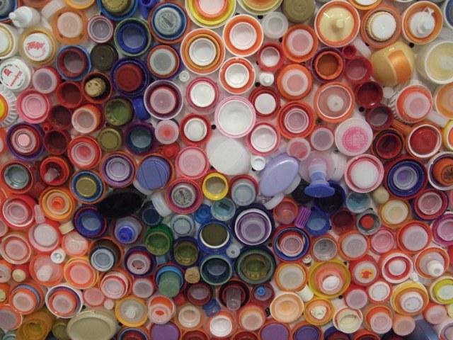 Close Bottle Caps Portrait