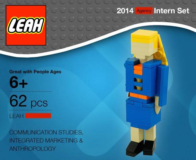 Lego Leah 2014 Intern Set