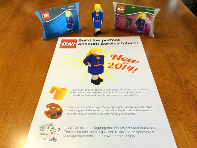 Lego Leah - Full Resume Set