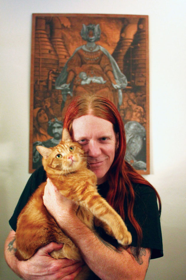 Metal Cats Ginger